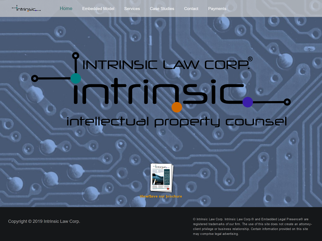 Intrinsic Law - Homepage