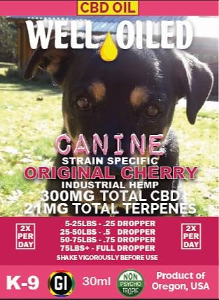 Canine Original Cherry